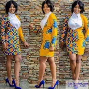 Ladies, Checkout These Corporate Ankara Styles For The Modern Woman